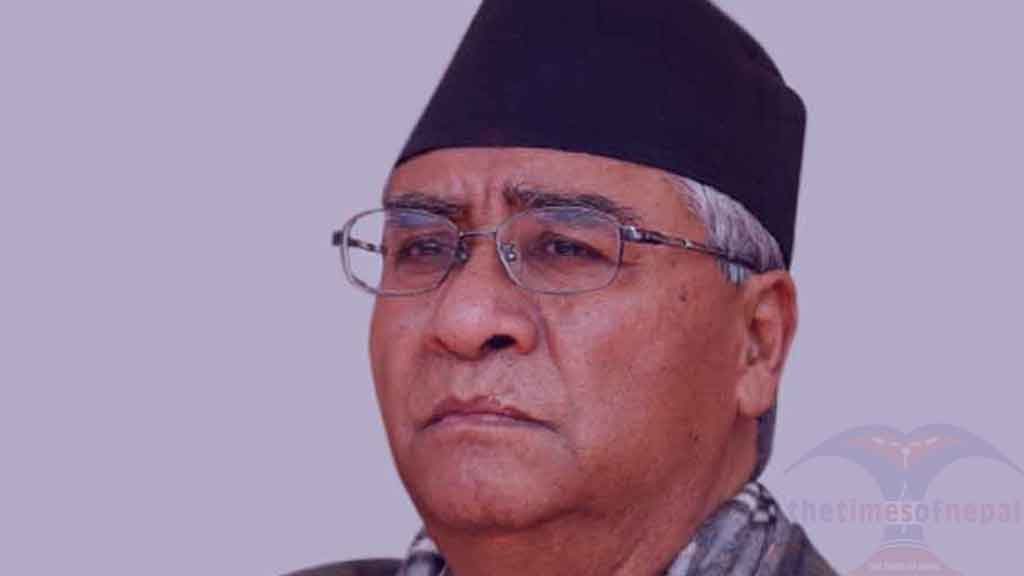 Sher Bahadur Deuba, President of the Nepali Congress ,latest news