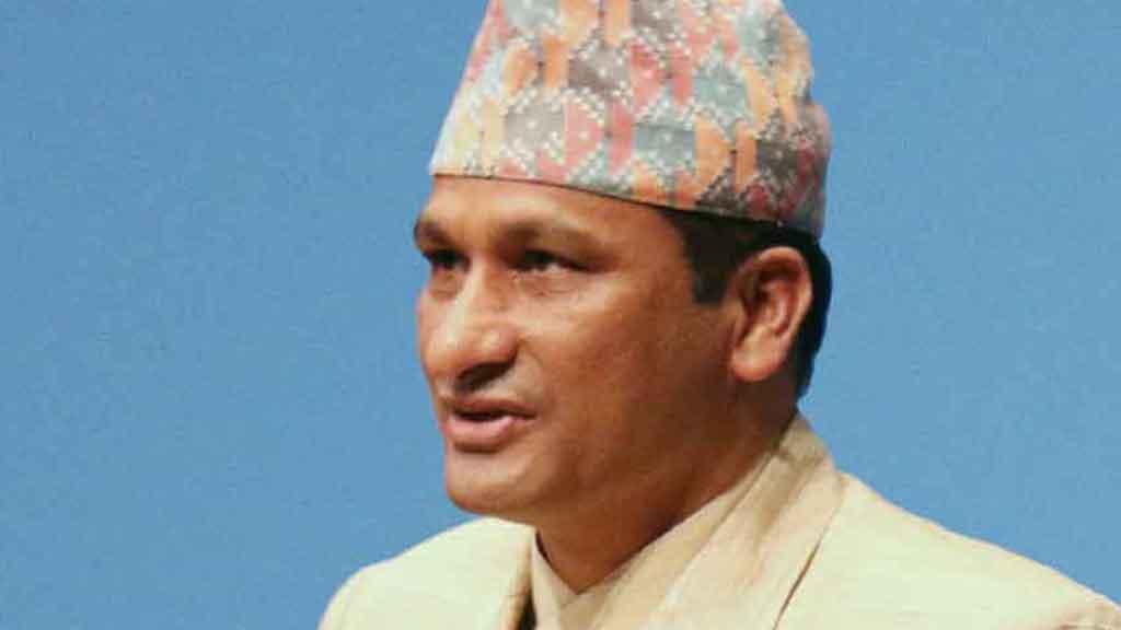 shakti basnet,Forest and Environment Minister, Shakti Bahadur Basnet