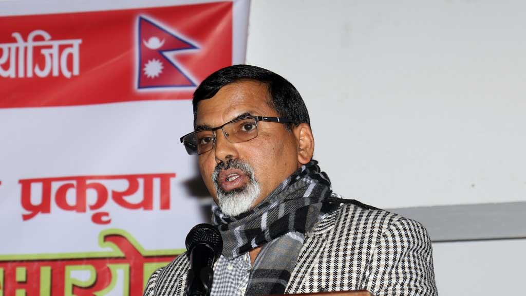 नेता जनार्दन शर्मा - The Times Of Nepal