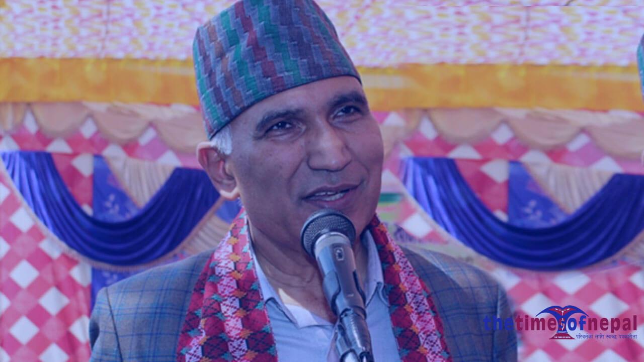 विष्णुप्रसाद पौडेल - Bishnu Prasad Poudel - General Secretary of the Nepal Communist Party (NCP)