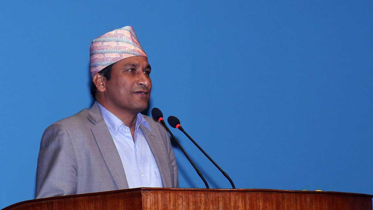 shakti basnet,Forest and Environment Minister Shakti Bahadur Basnet