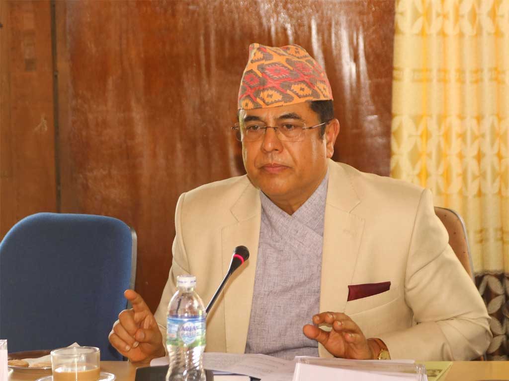 Dr. Chiranjibi Nepal Governor Central Bank of Nepal