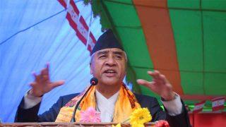 नेपाली काङ्ग्रेसका सभापति एवम् पूर्वप्रधानमन्त्री - शेरबहादुर देउवा