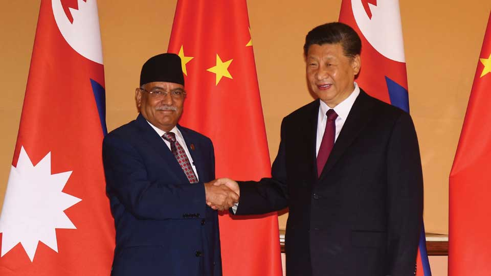 prachanda and xi - the times of nepal
