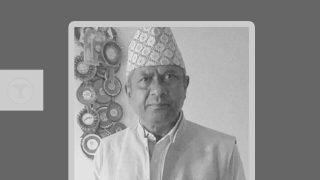 पाल्पाका प्रमुख दयाराज बस्याल - The Times Of Nepal