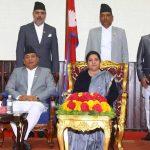 नवनियुक्त मन्त्रीलाई शपथ - The Times Of Nepal