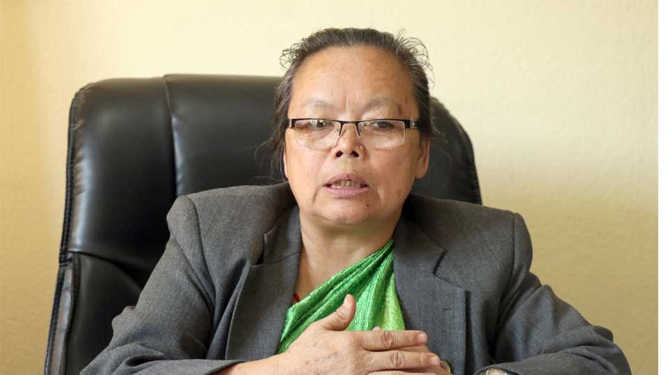 बालबालिका तथा ज्येष्ठ नागरिकमन्त्री थममाया थापा - The Times Of Nepal