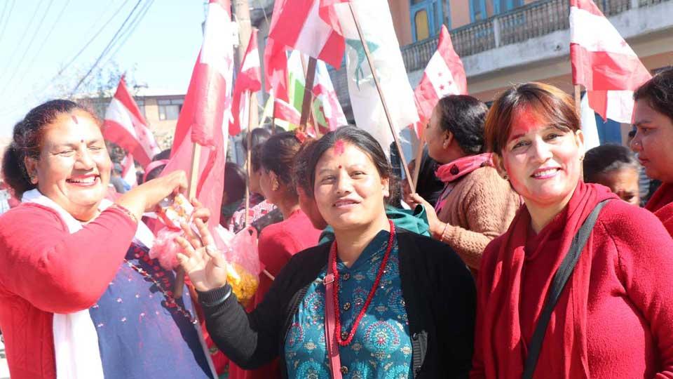काँग्रेसका उम्मेदवार विजयी - The Times Of Nepal