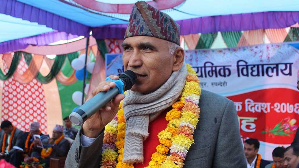 नेपाल कम्युनिष्ट पार्टी (नेकपा) का महासचिव विष्णुप्रसाद पौडेल