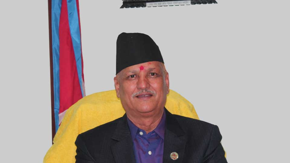 Lekhraj Bhatt - The Times Of Nepal