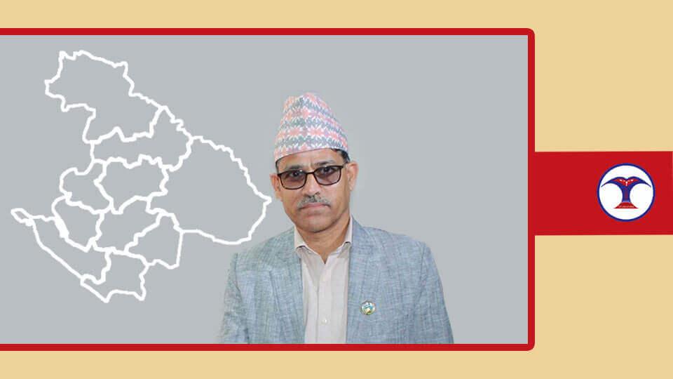 सुुदूरपश्चिम प्रदेशका मुख्यमन्त्री त्रिलोचन भट्ट, Trilochan Bhatta - The Times of Nepal