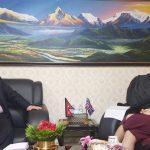 गृहमन्त्री थापा र नेपालका लागि बेलायती राजदूतबीच भेटवार्ता
