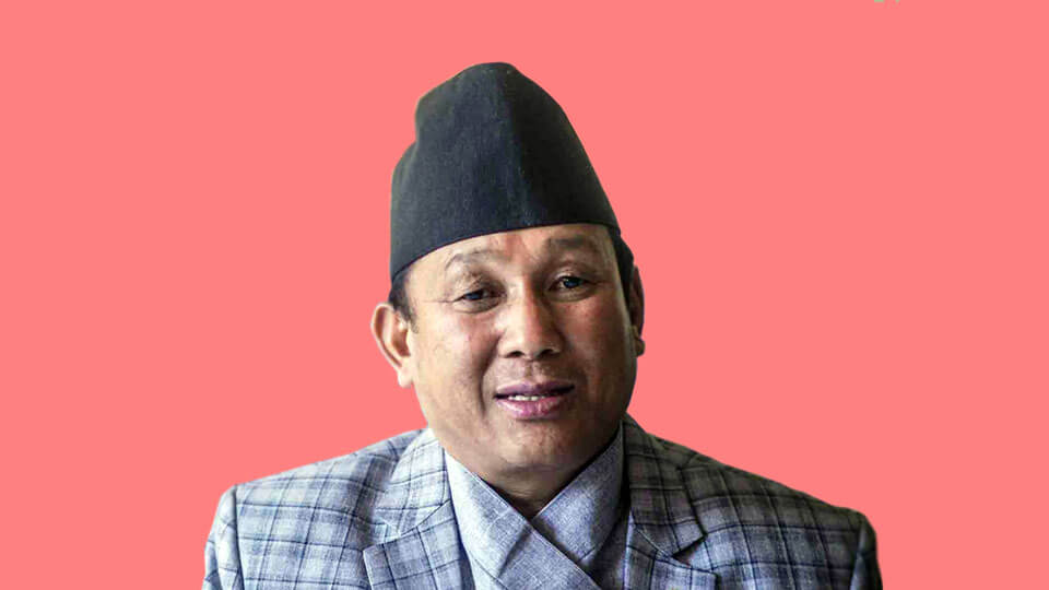 Parbat-Gurung, Minister for Women, Children and Senior Citizen - The Times Of Nepal