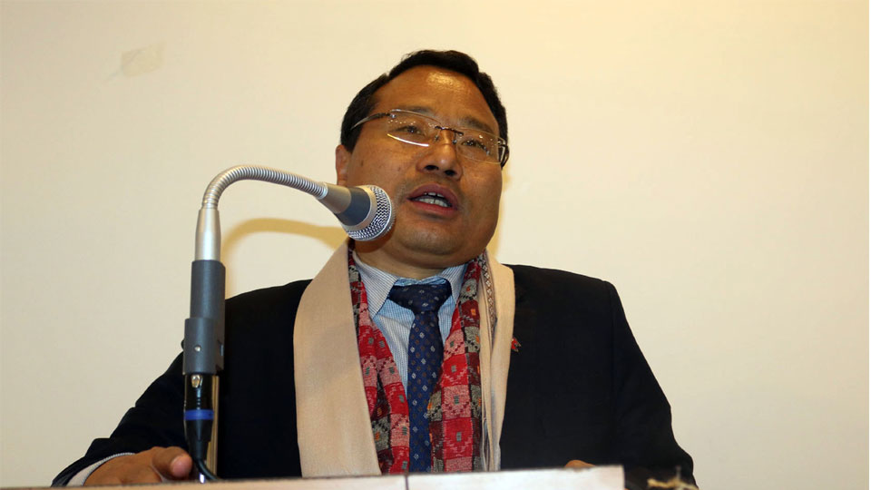 ऊर्जा, जलस्रोत तथा सिँचाइमन्त्री वर्षमान पुन-the times of nepal