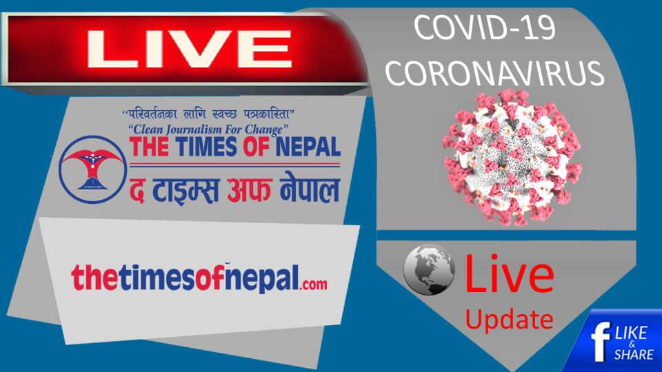 coronavirus,COVID-19, Live Update - The Times Of Nepal